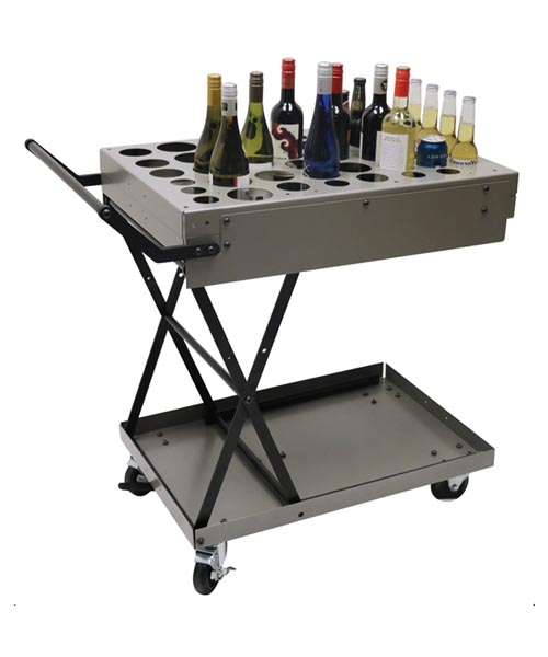 Foldable Liquor Cart