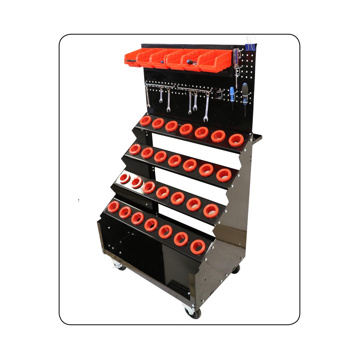 CNC Tool Carts - Steps model
