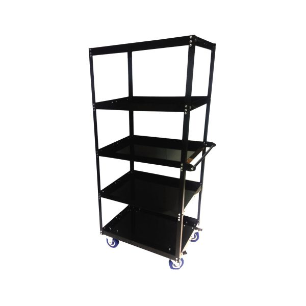 5 shelf Utility cart- 1250 lbs ( 567Kg) Capacity