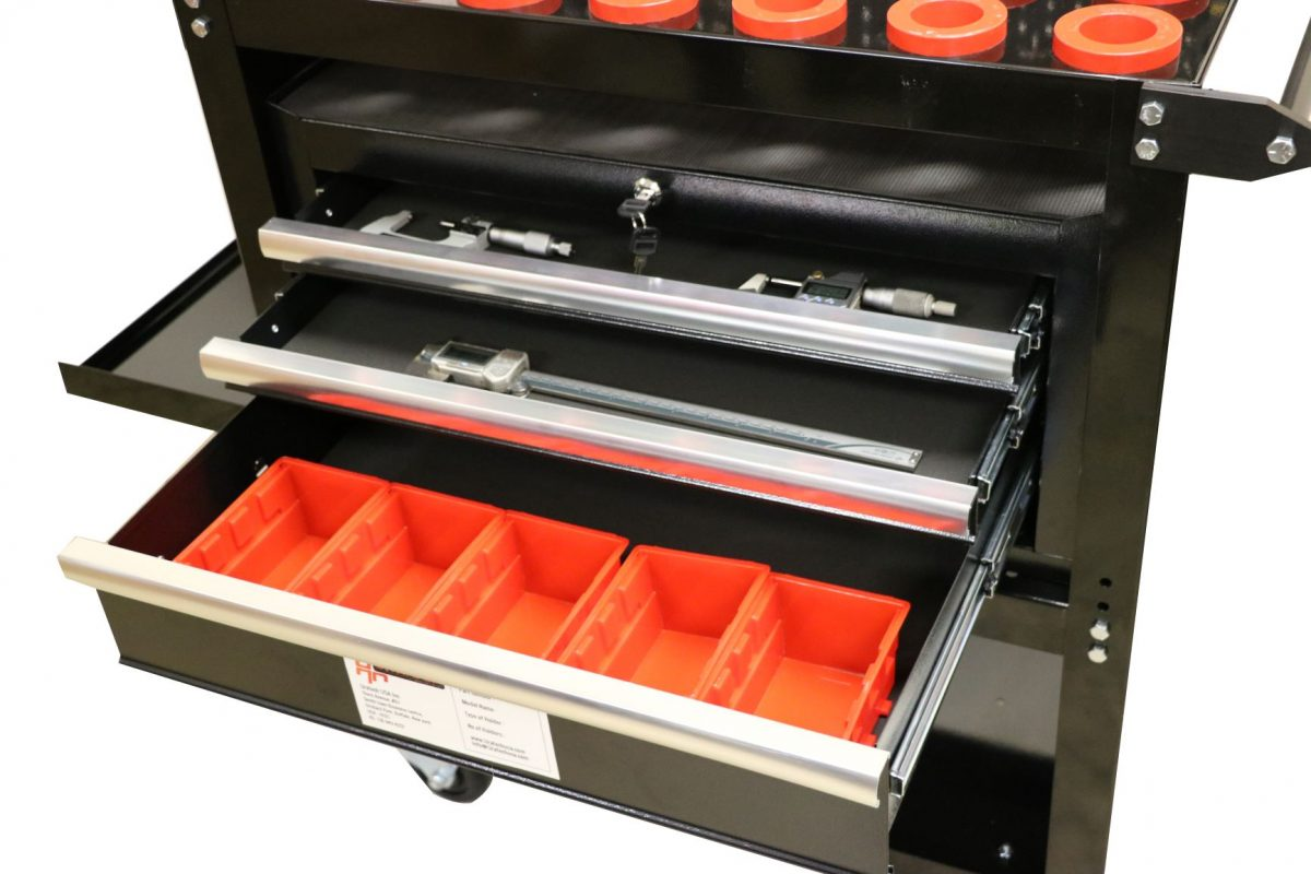 Tool holder with drawers