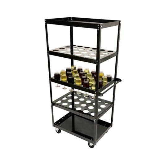 5 Shelf Liquor Cart